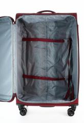 Velký cestovní kufr D&N 7074-12 Burgundy č.7