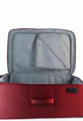 Velký cestovní kufr D&N 7074-12 Burgundy č.9
