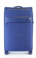 Velký cestovní kufr D&N 8074-06 Blue č.1