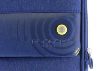 Velký cestovní kufr D&N 8074-06 Blue č.7