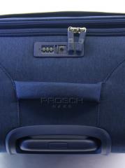 Velký cestovní kufr D&N 8074-06 Blue č.8