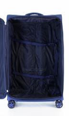 Velký cestovní kufr D&N 8074-06 Blue č.9