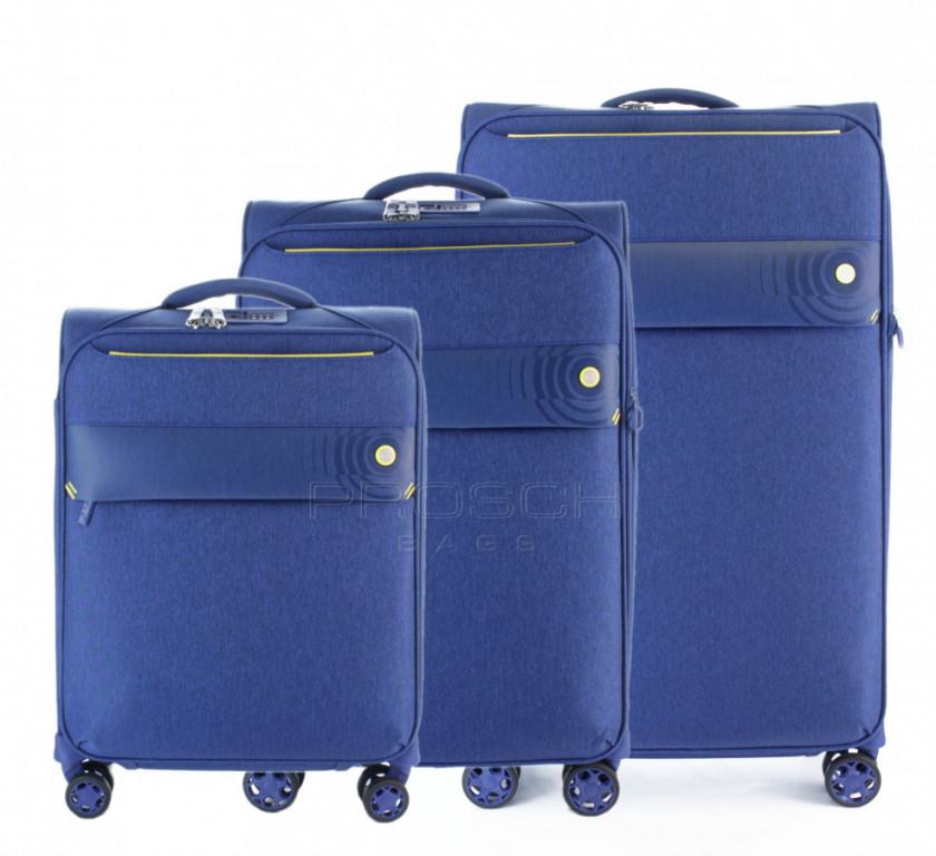 Sada kufrů D&N 8004 Blue