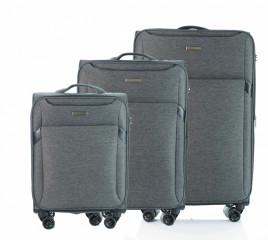 Sada kufrů D&N 7304 Černá č.1