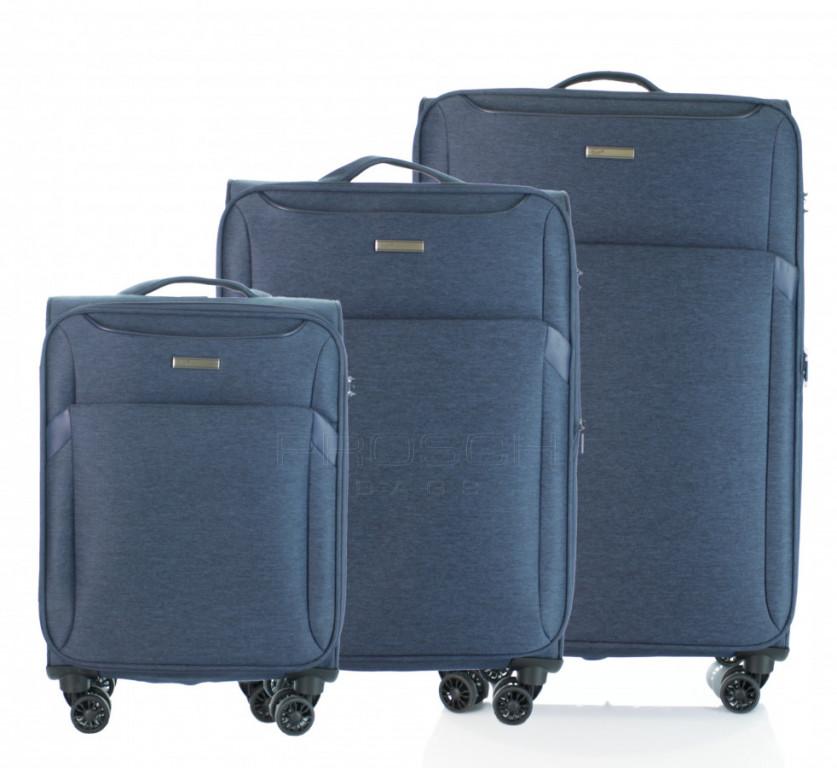 Sada kufrů D&N 7304 Modrá