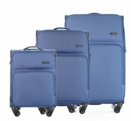 Sada kufrů D&N 7904 Modrá č.1
