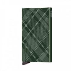 Cardprotector Secrid CLa-Tartan Green č.1