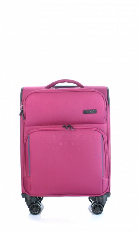 Kabinový cestovní kufr D&N 7954-04 růžový