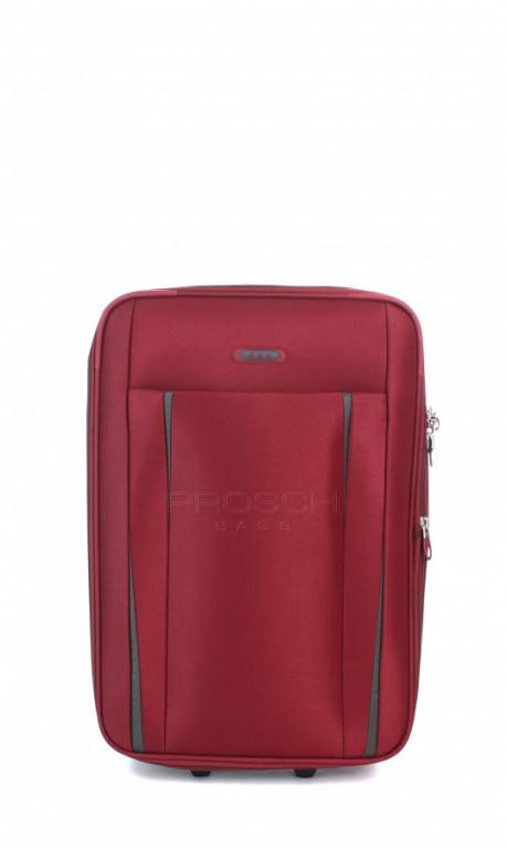 Kabinový cestovní kufr D&N 9350-12 bordový