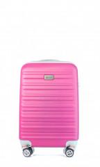 Kabinový cestovní kufr D&N 9450-04 růžový č.1