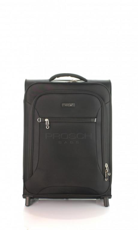 Kabinový cestovní kufr D&N 6454-11 černý