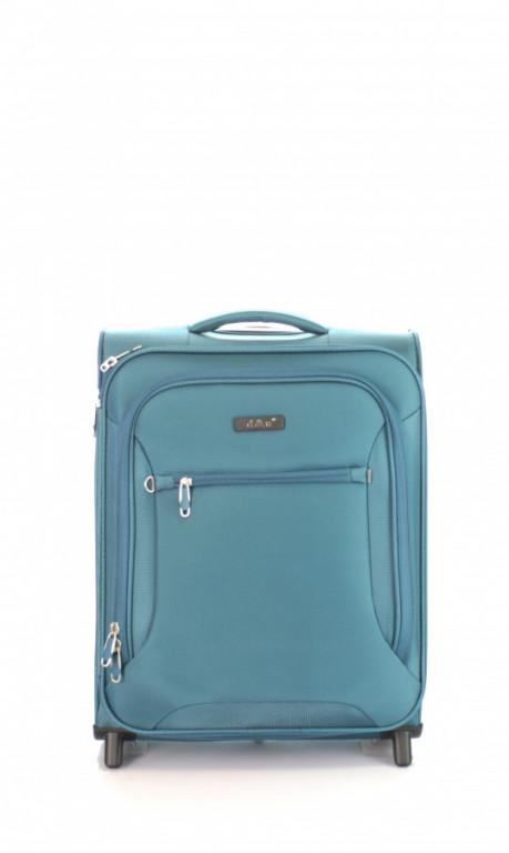 Kabinový cestovní kufr D&N 6454-16 petrolejový