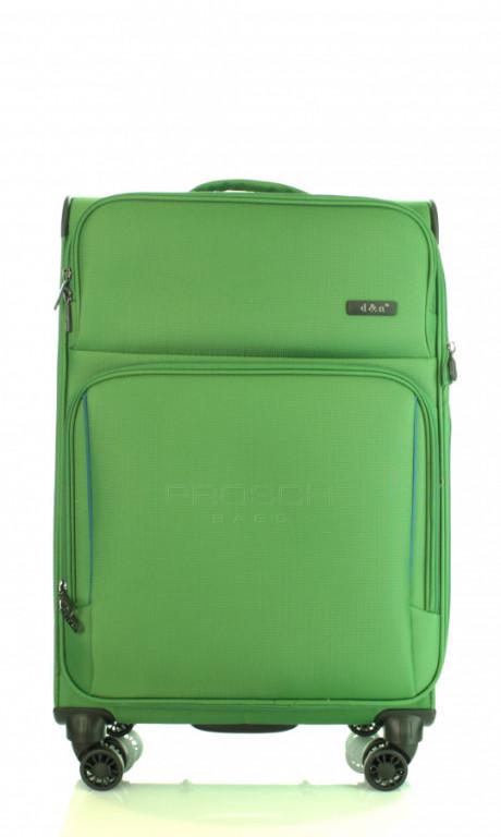 Střední cestovní kufr D&N 7964-05 zelený