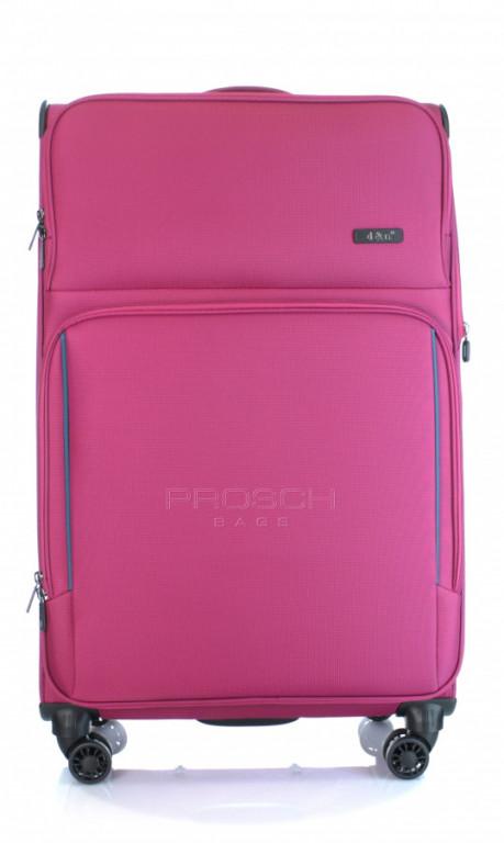 Velký cestovní kufr D&N 7974-04 růžový