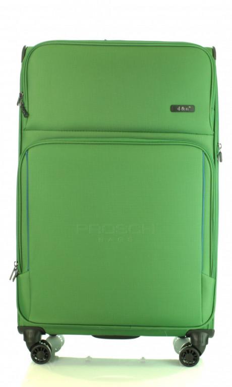 Velký cestovní kufr D&N 7974-05 zelený