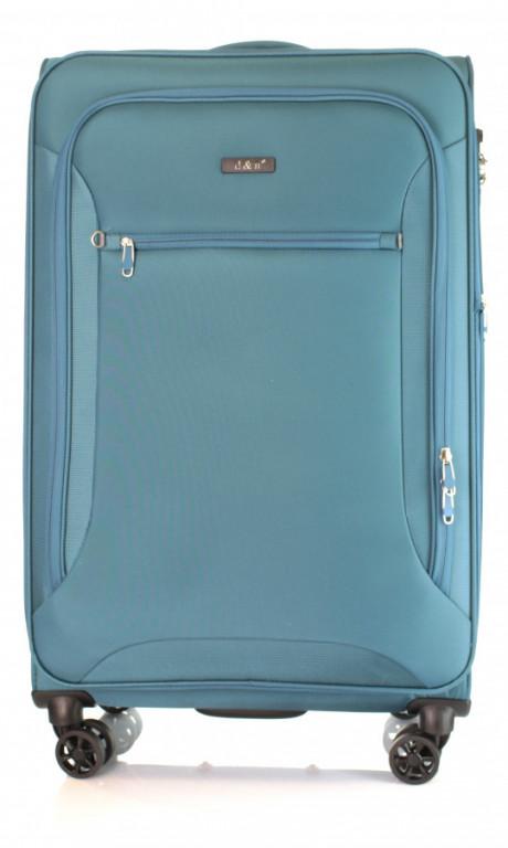 Velký cestovní kufr D&N 6474-16 petrolejový