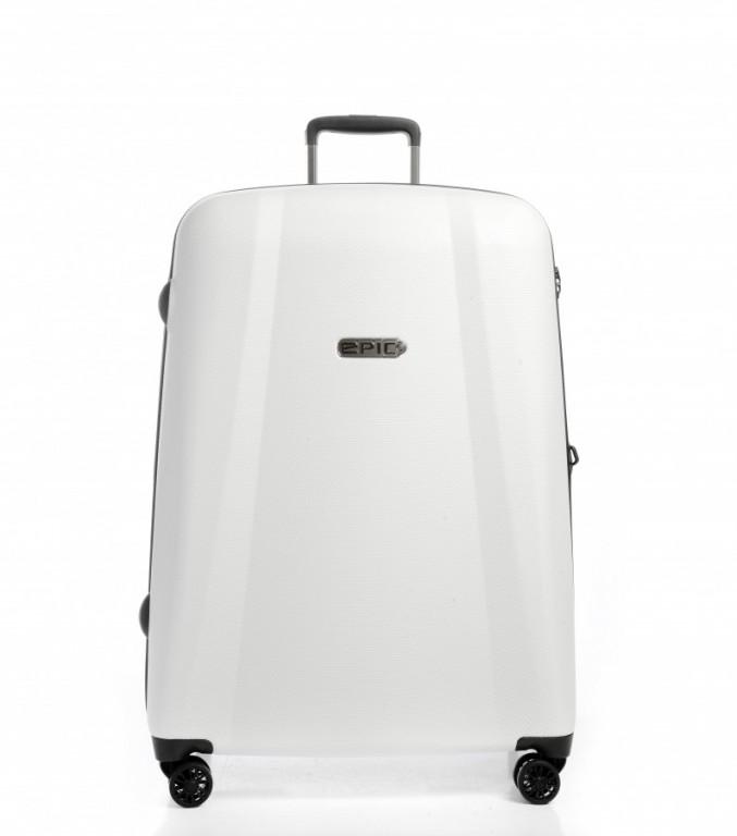 Velký cestovní kufr EPIC GTO EX bílý
