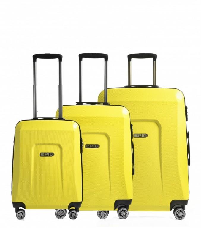 Sada kufrů Epic HDX Hexacore žlutá
