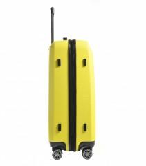 Velký cestovní kufr Epic HDX Hexacore žlutý č.4