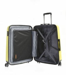 Velký cestovní kufr Epic HDX Hexacore žlutý č.5