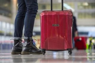 Kabinový cestovní kufr Epic GRX Hexacore bordový č.10