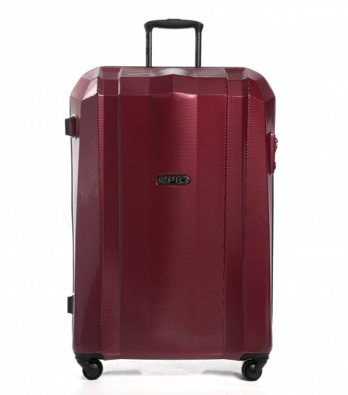 Velký cestovní kufr Epic GRX Hexacore bordový