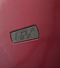 Velký cestovní kufr Epic GRX Hexacore bordový č.6