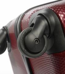 Velký cestovní kufr Epic GRX Hexacore bordový č.8