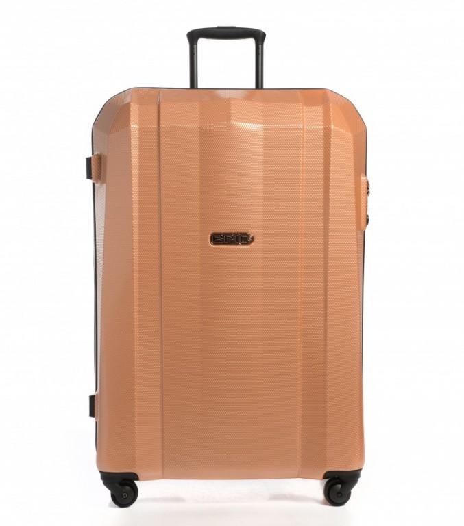 Velký cestovní kufr Epic GRX Hexacore rosegold