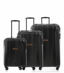 Velký cestovní kufr Epic GRX Hexacore černý č.7