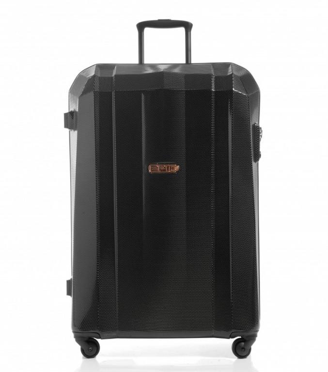 Velký cestovní kufr Epic GRX Hexacore černý