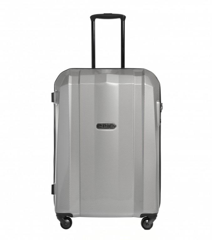 Střední cestovní kufr Epic GRX Hexacore šedý