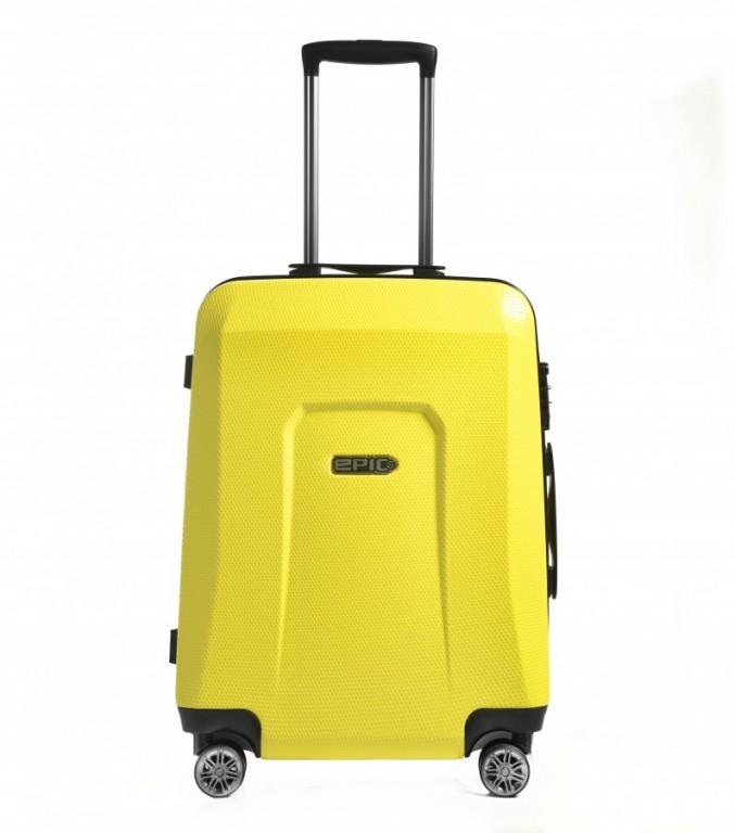 Střední cestovní kufr Epic HDX Hexacore žlutý