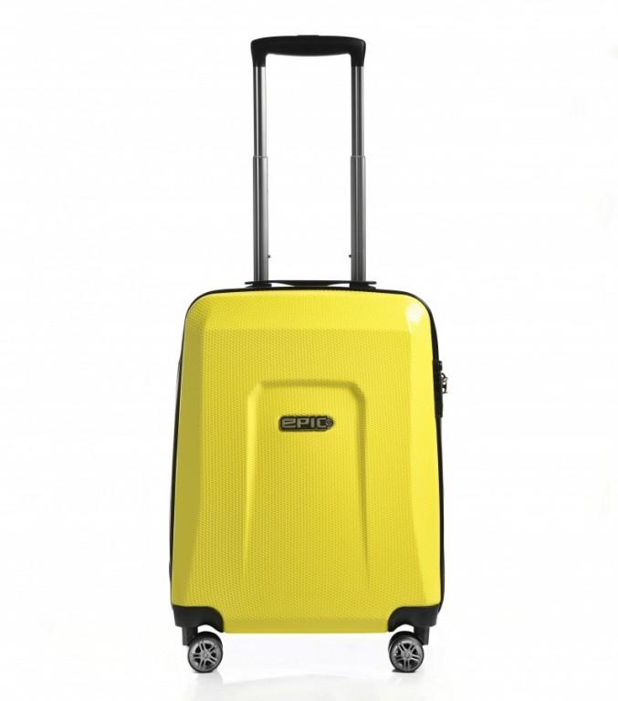 Kabinový cestovní kufr Epic HDX Hexacore žlutý