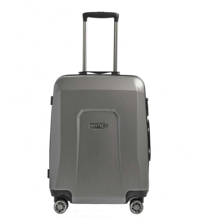 Střední cestovní kufr Epic HDX Hexacore šedý