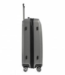 Velký cestovní kufr Epic HDX Hexacore šedý č.4