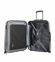 Velký cestovní kufr Epic HDX Hexacore šedý č.5