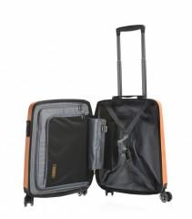 Kabinový cestovní kufr Epic HDX Hexacore oranžový č.5