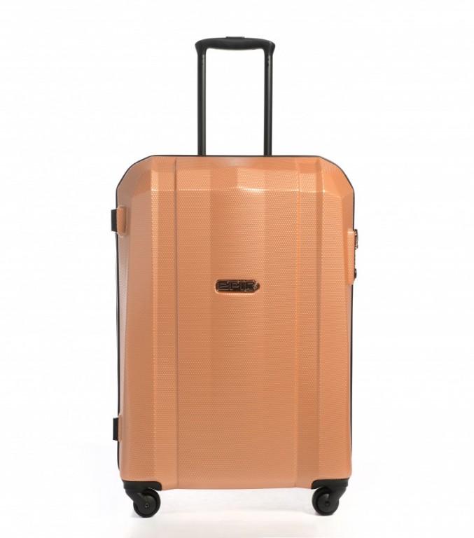 Střední cestovní kufr Epic GRX Hexacore rosegold