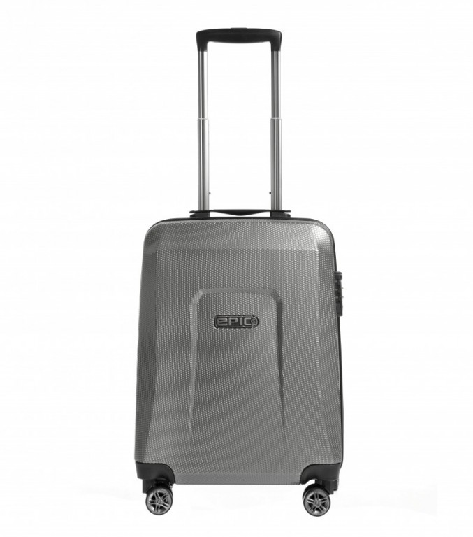 Kabinový cestovní kufr Epic HDX Hexacore šedý