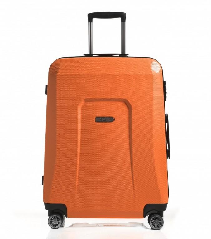 Velký cestovní kufr Epic HDX Hexacore oranžový