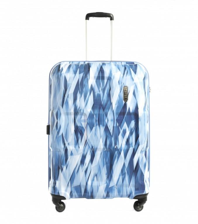 Velký cestovní kufr Epic Crate Wildlife Blue
