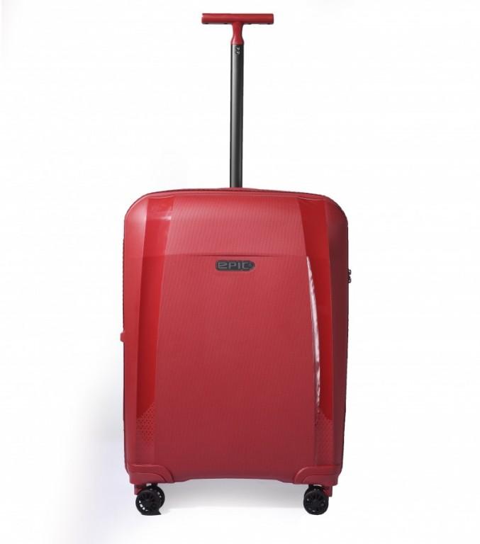 Střední cestovní kufr EPIC Phantom červený