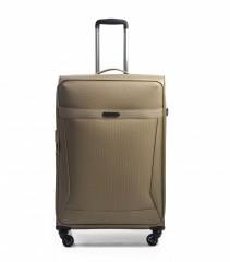 Velký cestovní kufr EPIC Quantum béžový č.1