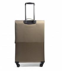 Velký cestovní kufr EPIC Quantum béžový č.4