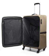 Velký cestovní kufr EPIC Quantum béžový č.6