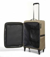 Střední cestovní kufr EPIC Quantum béžový č.6