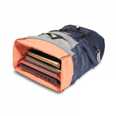 Batoh na notebook 15,6 EVERKI ContemPRO Roll modrý č.5