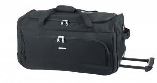 Cestovní taška troley D&N 7713-01 černá č.1