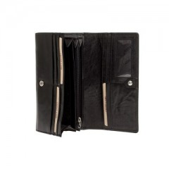 Dámská kožená peněženka LAGEN LN-55416-M1 černá č.2